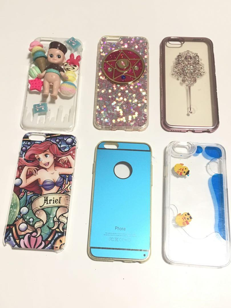 iPhone 6s/6 cases sailor moon, Cony & brown, Winnie the Pooh
