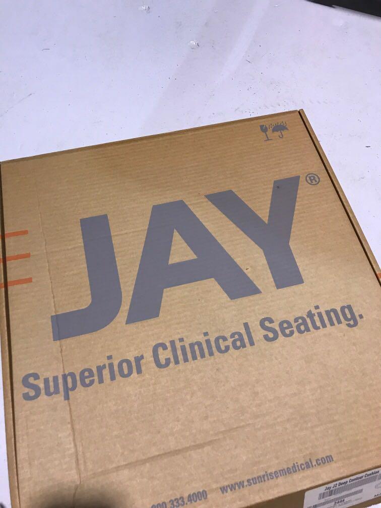 """JAY J2 Deep Contour Cushion 14x14"""""""