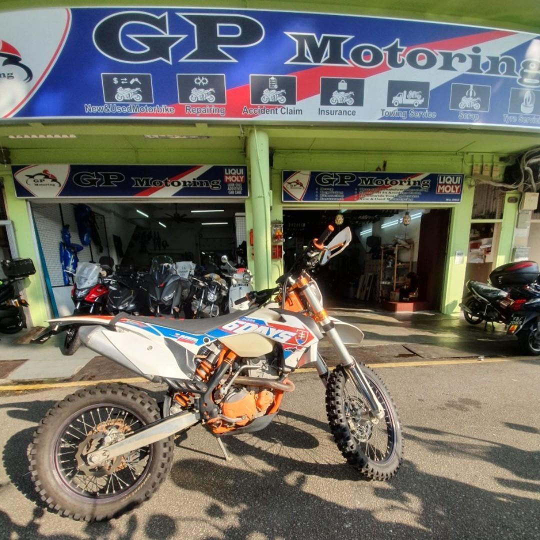 KTM 350 EXC-F SIX DAYS SLOVAKIA USED