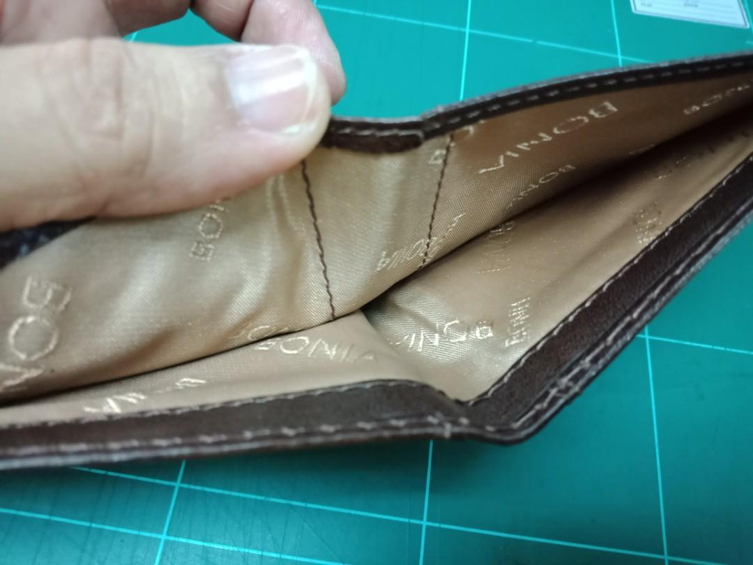 Leather wallet Bonia Original