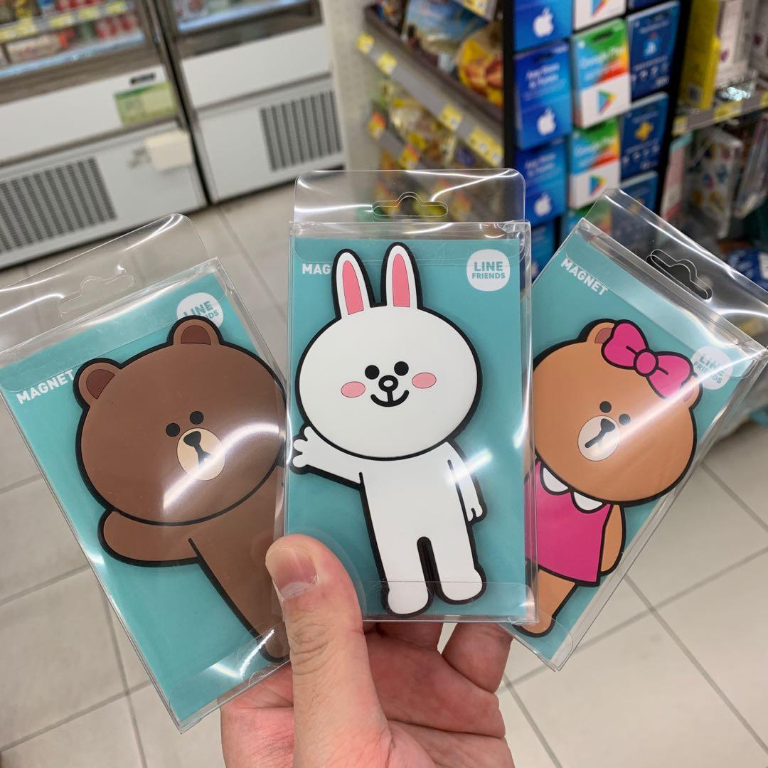 Line friends magnet 磁石 Brown Cony Choco