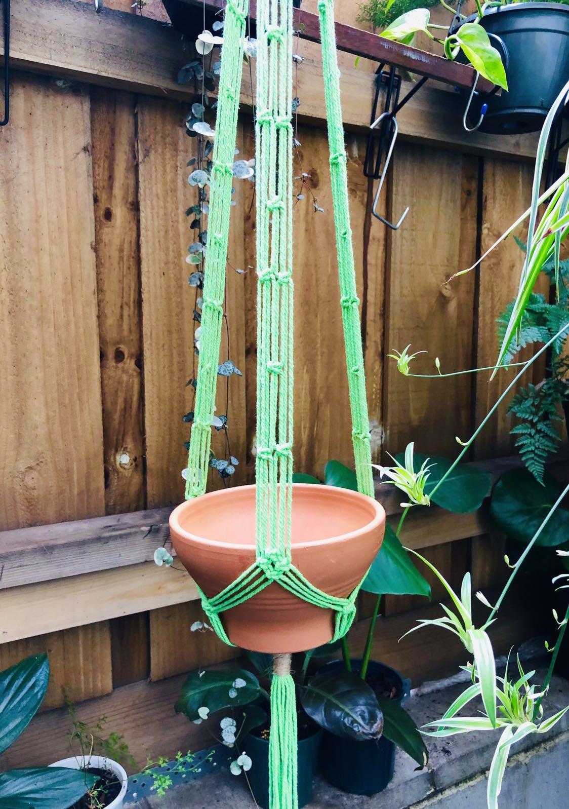 Macrame Hanger/ Cotton Cord/ Terracotta Pot/ Plant Hanger/ Plant