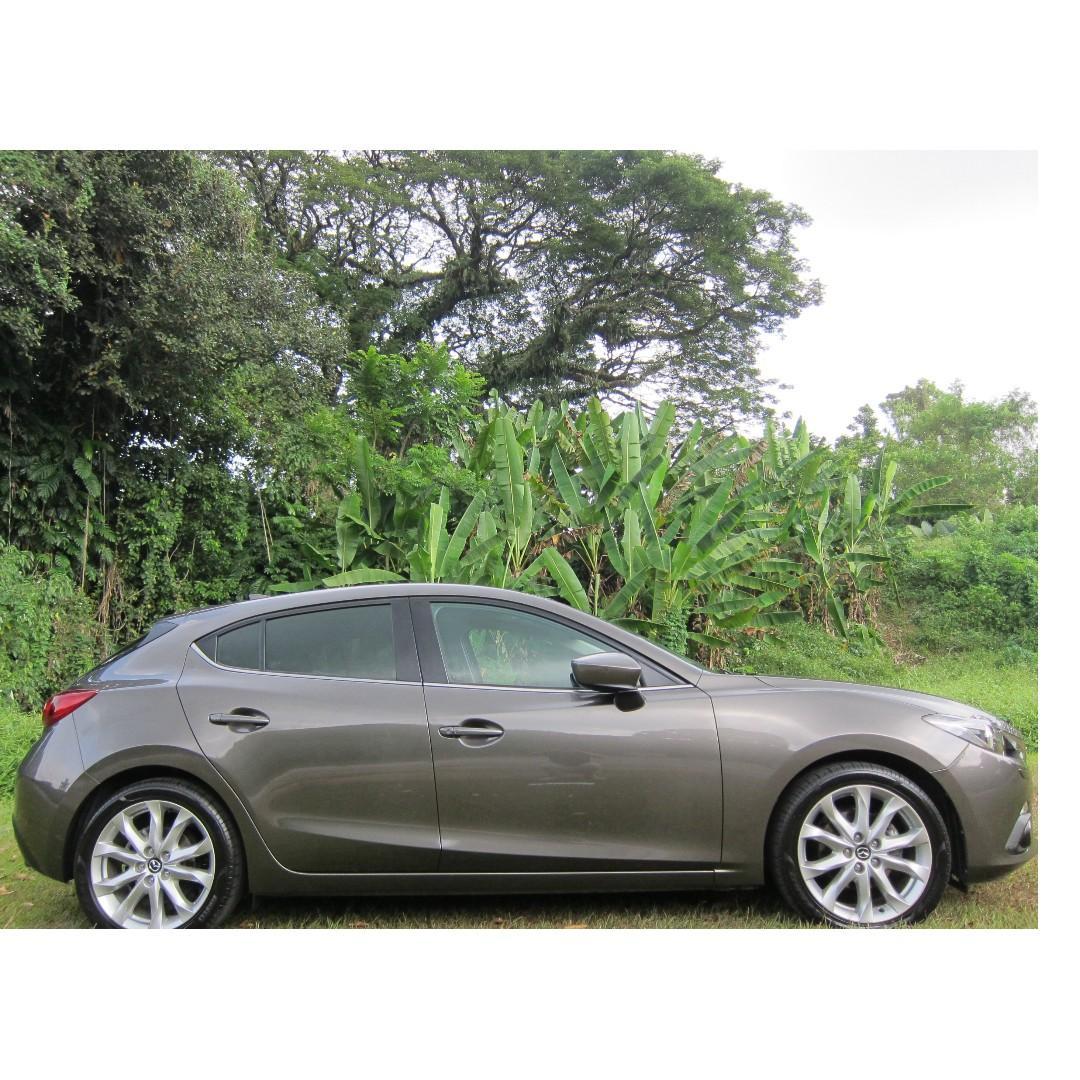 Mazda 3 2.0 Hatchback Sports Auto