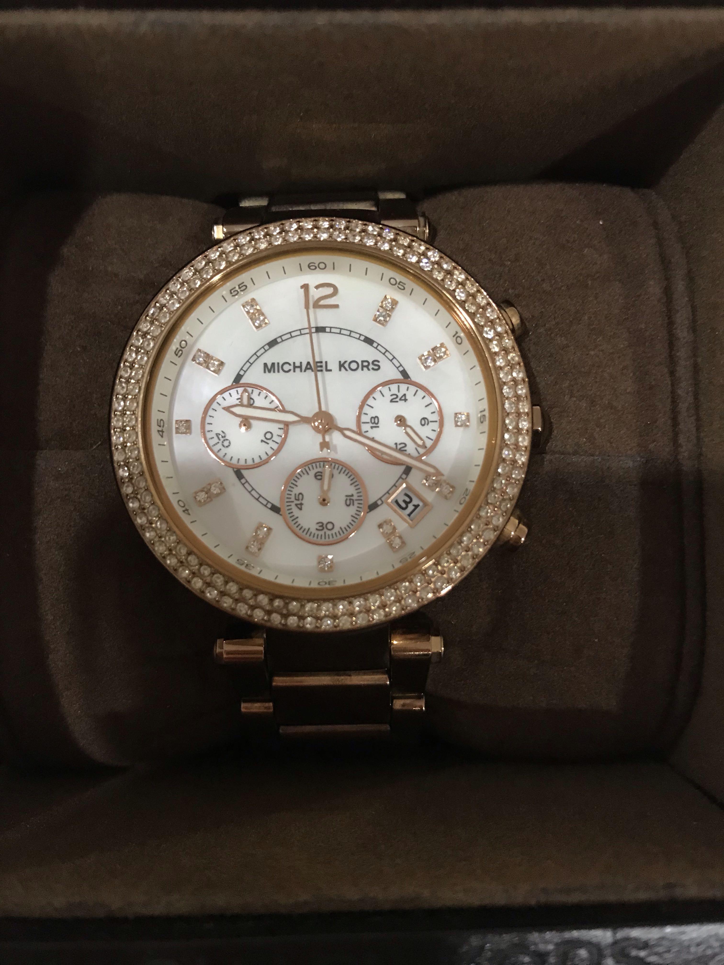 Michael kors Rose Gold watch (Original price $529)