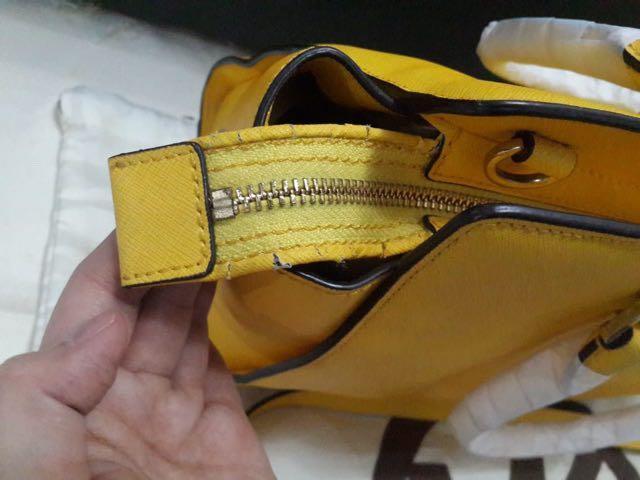 Michael Kors Selma Medium yellow authentic bag new / tas mk original