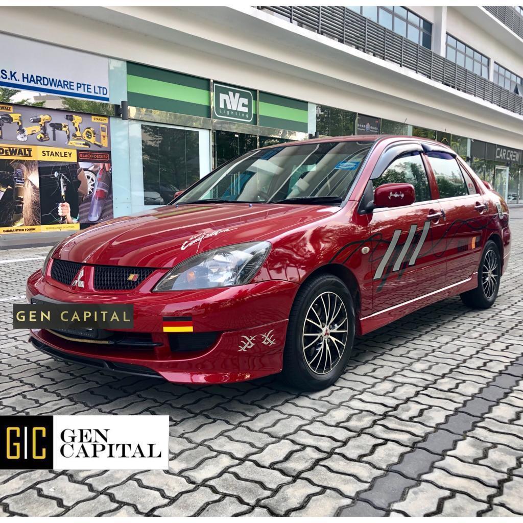 Mitsubishi Lancer GLX 1.6A *Lowest rental rates, good condition!