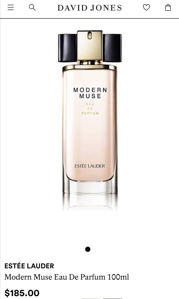 Modern Muse Estée Lauder Edp 100ml used about 20-30ml#swaps au