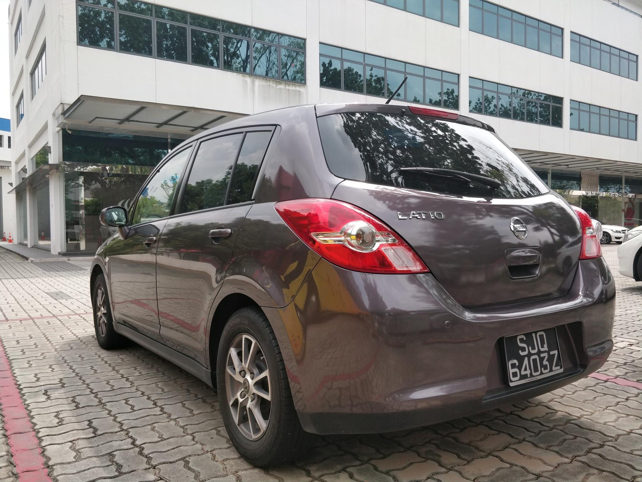 Nissan Latio 1.5A - Lowest rental rates, good condition!