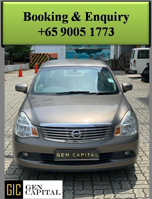 Nissan Sylphy 1.5A - Lowest rental rates, good condition!
