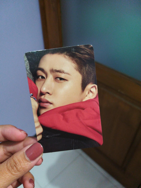 Photocard Hanbin B.I iKON RETURN Red Version Album