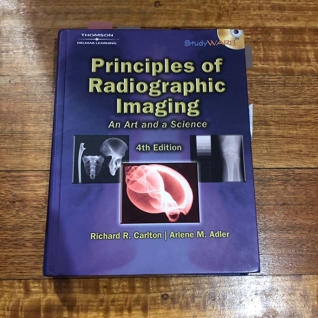Radiography (Medical Imaging) + Human Anatomy & Physiology Assorted Textbooks