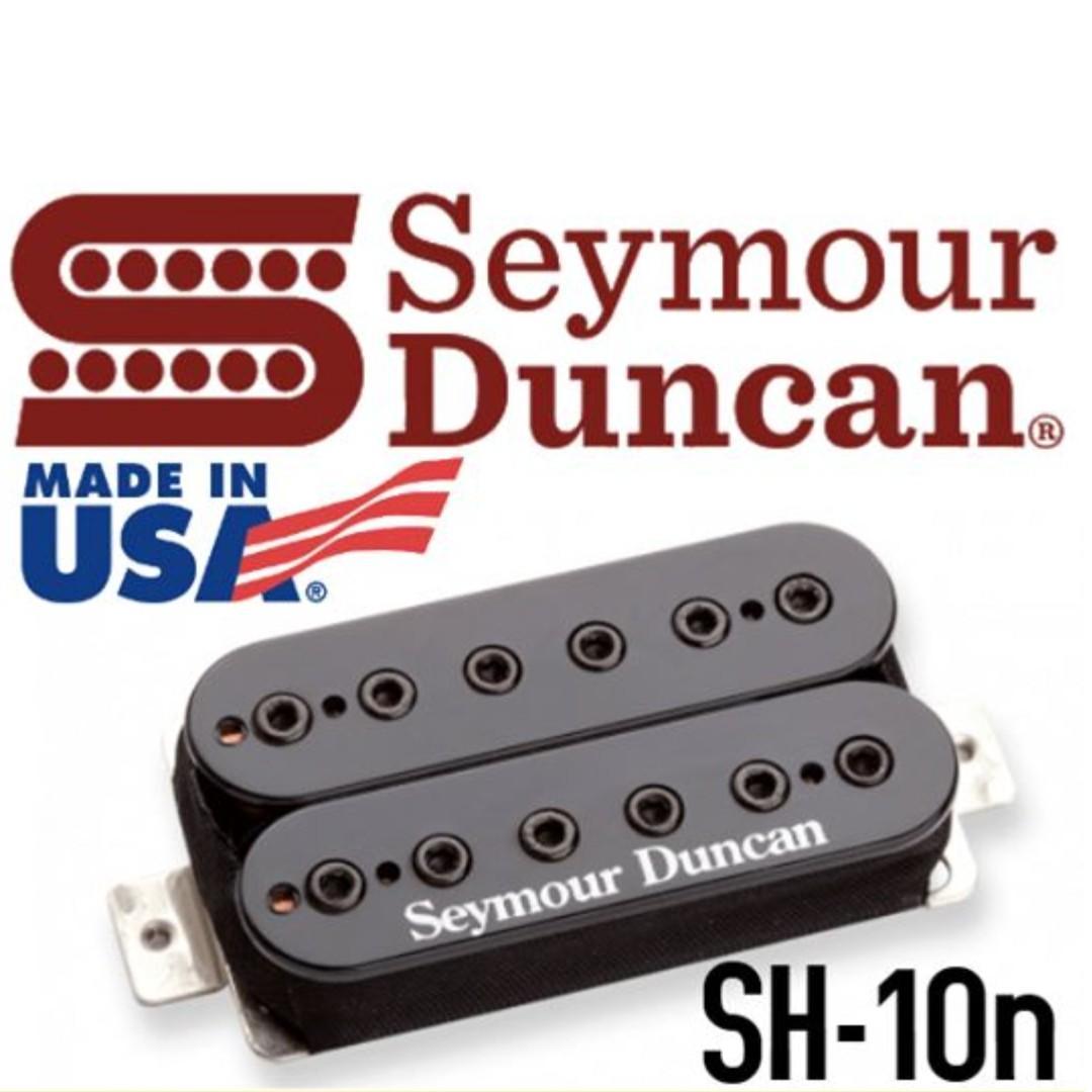 NEW Seymour Duncan SH-10n Full Shred Humbucker PICKUP Neck Guitar BLACK NICKEL