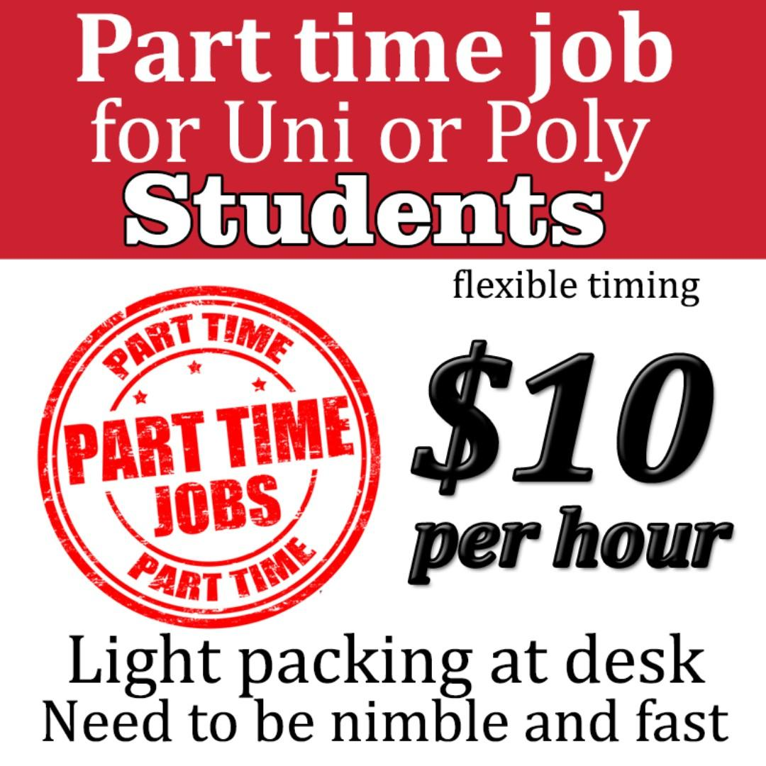 Student Part time job - flexible time/ after school/weekend