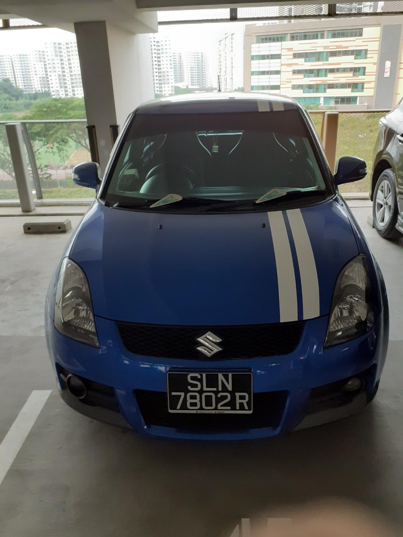 Suzuki Swift Sport 1.6 VVT 6 Speed MT Manual