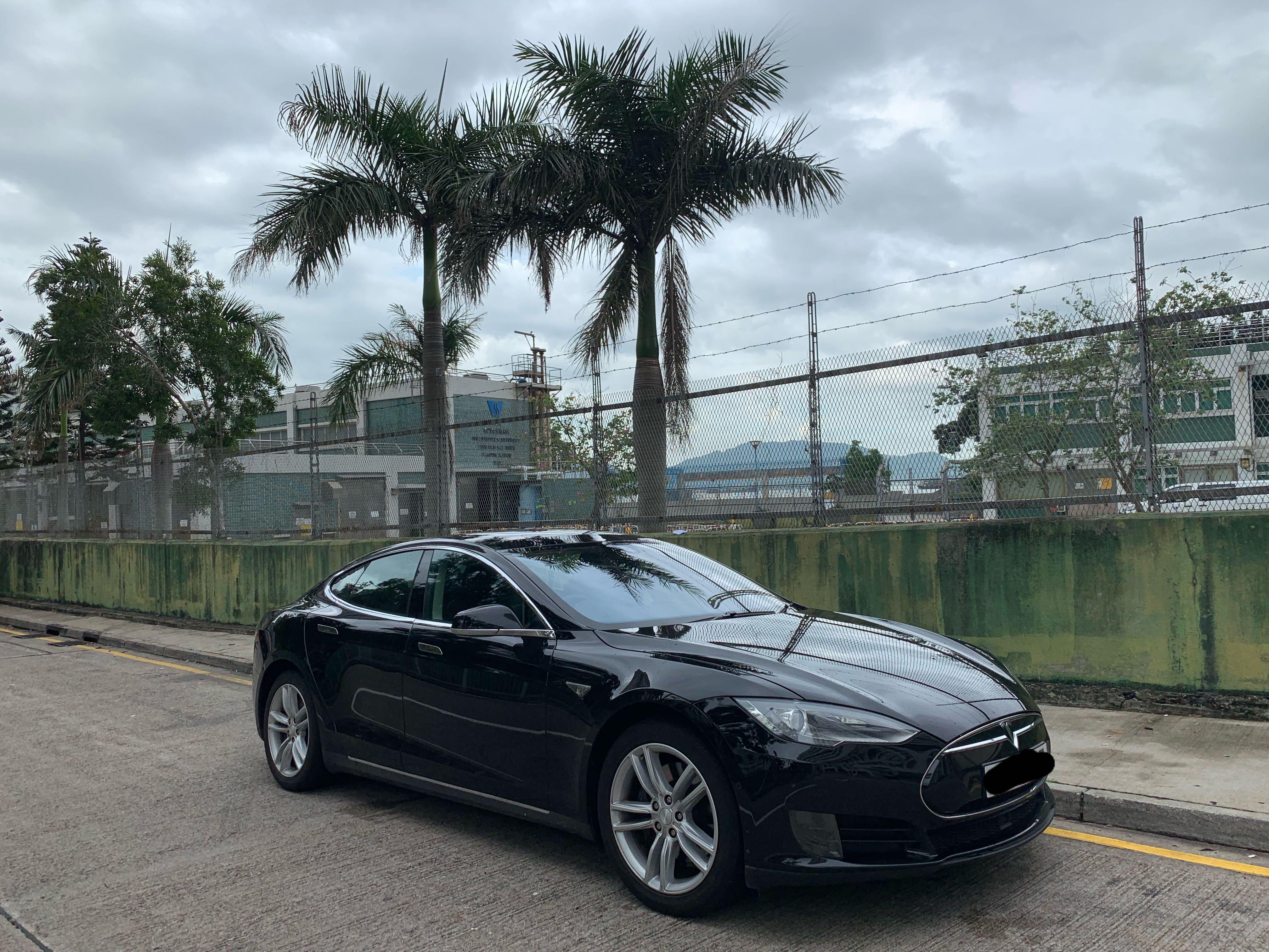 Tesla 結婚車 花車 婚紗相 (連司機)