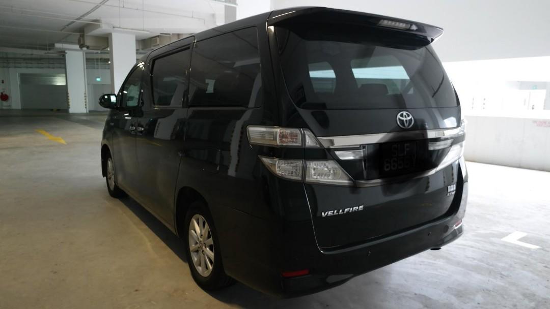 Toyota Vellfire Hybrid for Rent! (Grab & Gojek Ready)