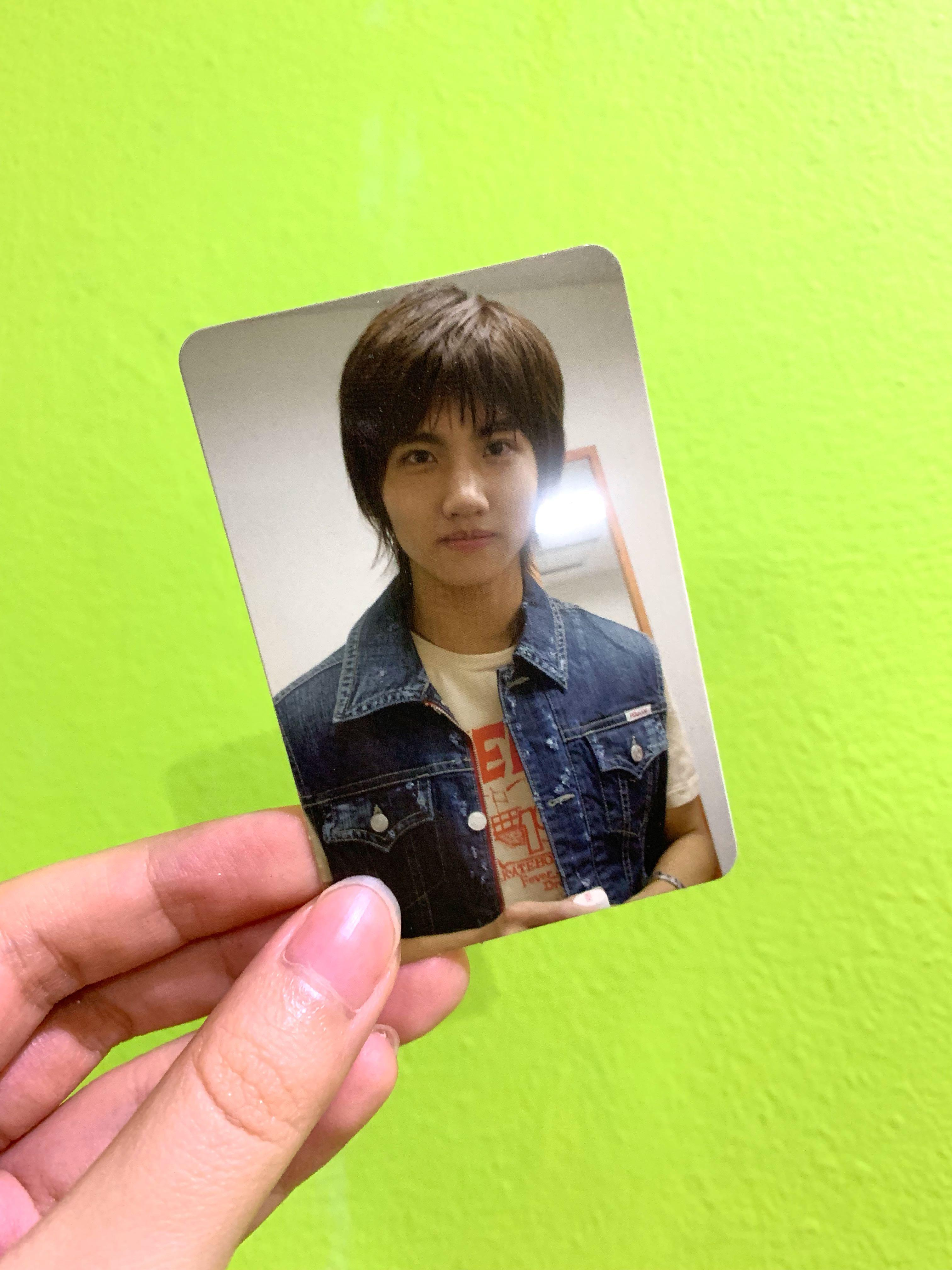 TVXQ Changmin Official photocard from Keep Your Head Down album