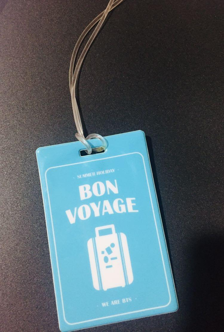 [WTS][RARE ITEM] BTS SUMMER PACKAGE IN KOTA KINABALU 2015 LUGGAGE TAG