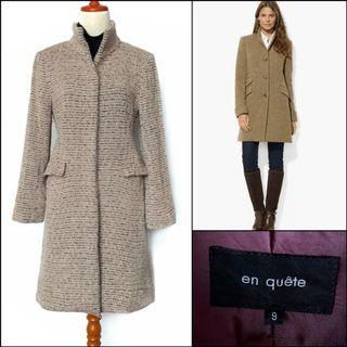 Japan Long Coat / Long wool coat / winter coat / spring coat / autumn coat / coat musim dingin / outerwear / coat korea / coat panjang / outer panjang / mantel / knit coat / coat wol