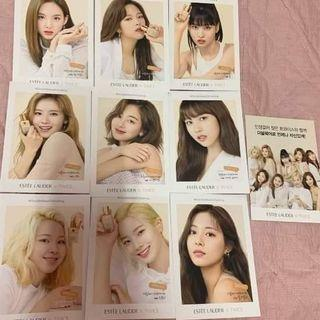 [WTS] Twice Estee Lauder Limited Postcard