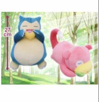 Licensed Pokemon Plush Toys from Toreba Japan