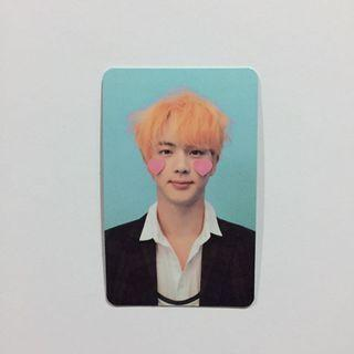 BTS LOVE YOURSELF OFFICIAL PC (Jin)