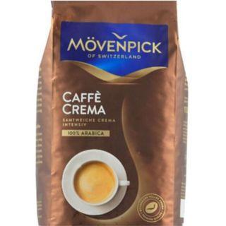 瑞士Mövenpick Caffè 莫凡彼咖啡豆 黃金奶油咖啡豆500g