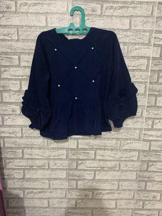 Blouse pearl size S ld 84