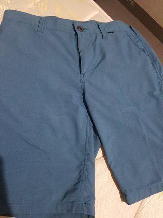 Celana pendek hurley biru tua ASLI AUTHENTIC