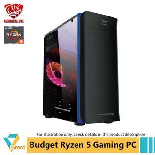 Newest Gen 3 Ryzen 5 budget business gaming PC to 32GB RAM 480GB SSD for Apex Batterfield CSGO Dota 2 Fifa Fortnite GTA