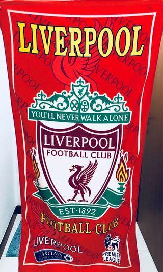 Liverpool, Man U & Arsenal FC Towels