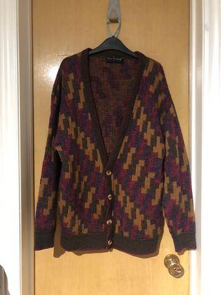 Isle of Man Knitted Cardigan