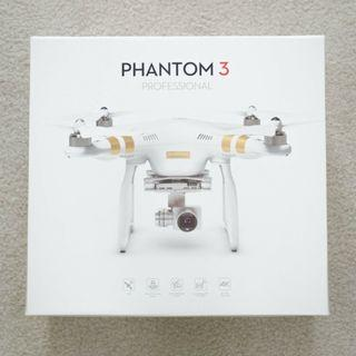 DJI Phantom 3 Professional w/ Controller
