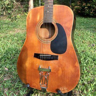 Hofma Vintage Acoustic Guitar