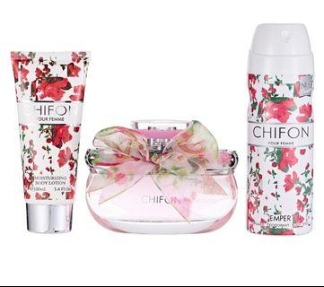 💐 Original Perfume: Chifon By Emper Gift Set For Women 💐