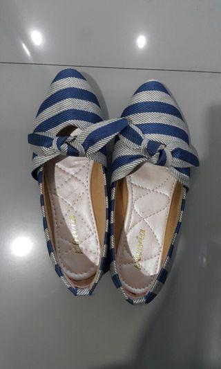 Flat shoes Pita - Navy Blue