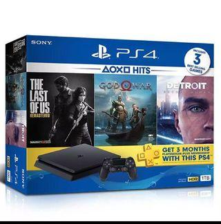 [1 TB] Playstation 4 bundle (PS4 bundle)