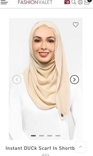 Duck Scarves Instant Chiffon