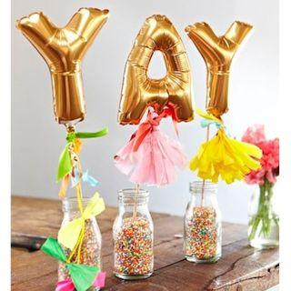 Foil Balloons for party planning projects