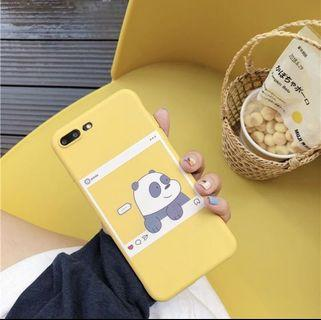We bare bear XS max case Case