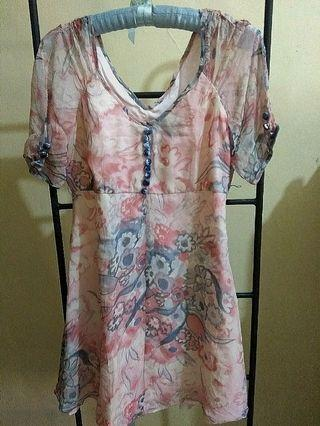 Authentic betsey and Johnson flower dress