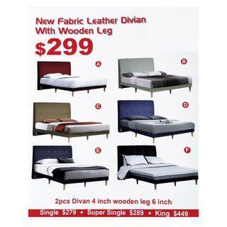 NFLD Designer Bed Frame- Available All Sizes