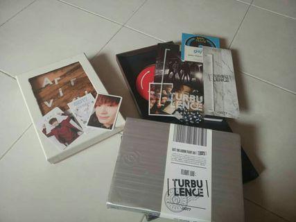 Got7 hard carry album & never ever album (never version)
