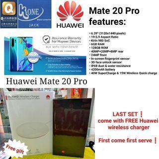 Brand New Huawei Mate 20 Pro 128GB Black