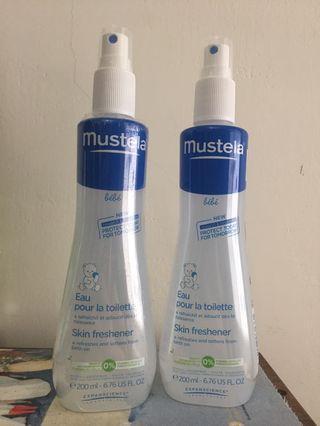 Mustela爽膚水200ml*2罐 液體爽身