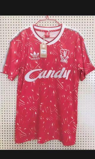 Liverpool 89-91 Retro Jersey
