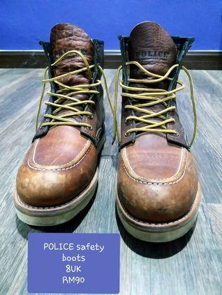 Police safety boots