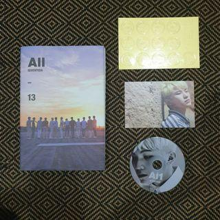 Seventeen Official Album AL1: Version ALL
