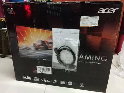 "Acer XF240H 24"" 144hz Monitor"