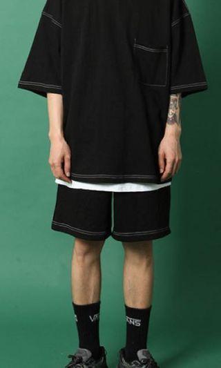 嘻哈短袖 新款男生 T-Shirt oversize